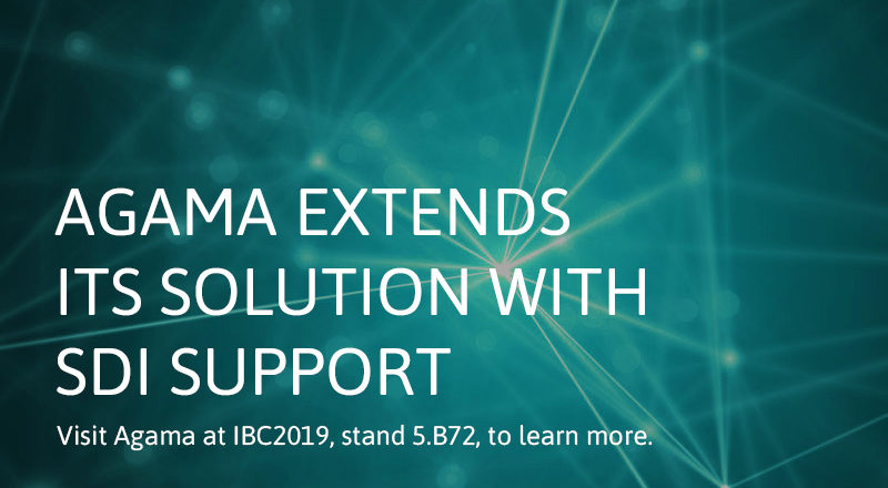 Agama extends its assurance and analytics solution with SDI support_2019
