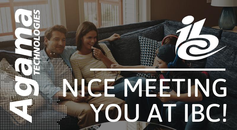 Nice meeting you at IBC2018